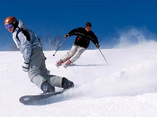 narty snowboard