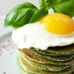 Pancakes szpinakowe