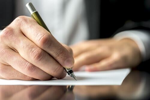 pisanie odręczne