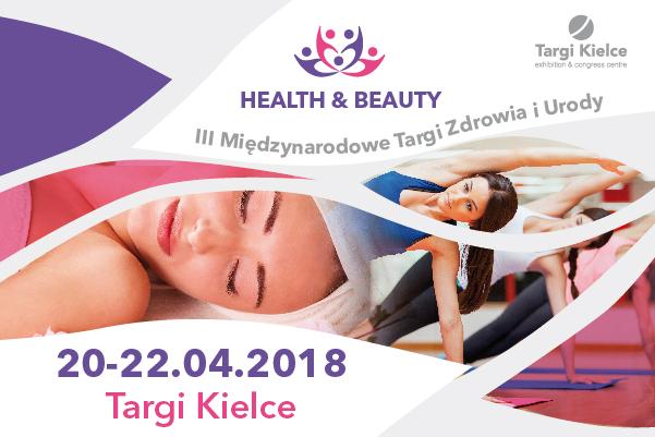 III Międzynarodowe Targi Zdrowia i Urody HEALTH & BEAUTY w kwietniu w Targach Kielce