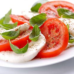 caprese salatka