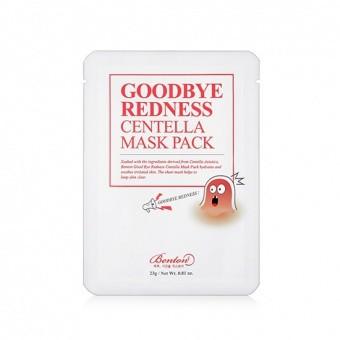 Benton L agodzaca podraznienia maska Goodbye Redness Centella Mask Pack 23gs mini