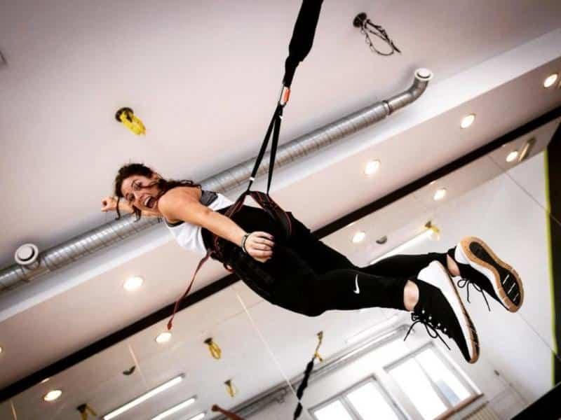 bungee fitness jak wygladaja zajecia ile kosztuje trening 2411828