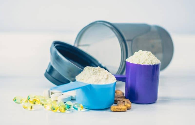 bigstock Sport food supplements Sport 258339490